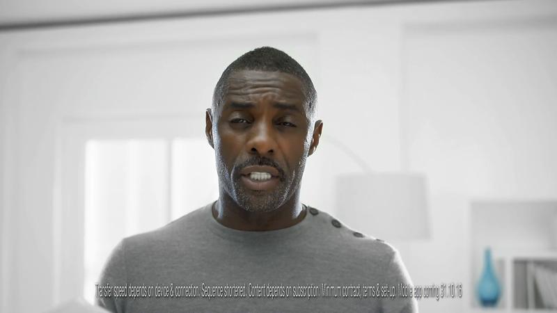 Sky Q - Idris Elba