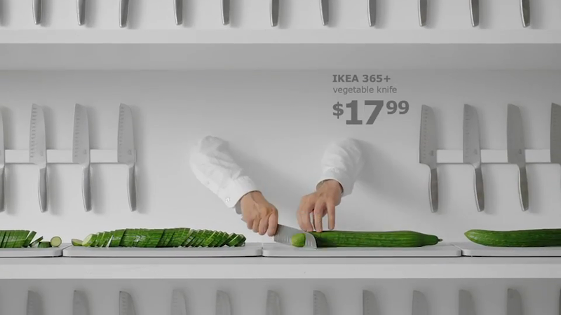 Rooster Knife Ikea