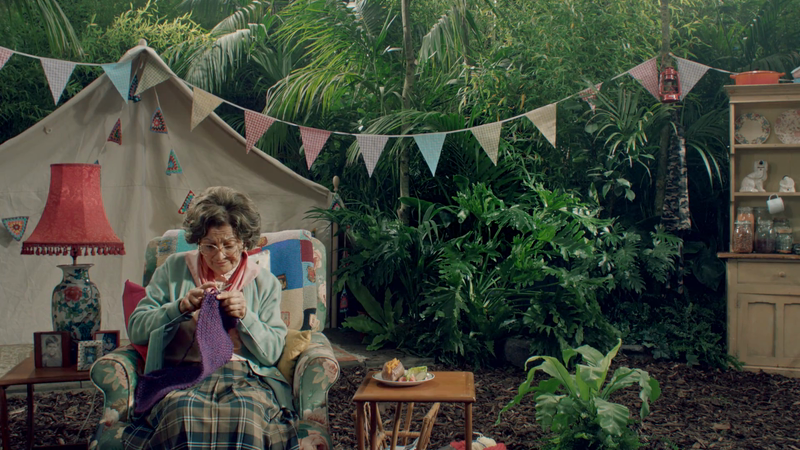 Aunt Bessie's 'I'm A Celebrity Idents'