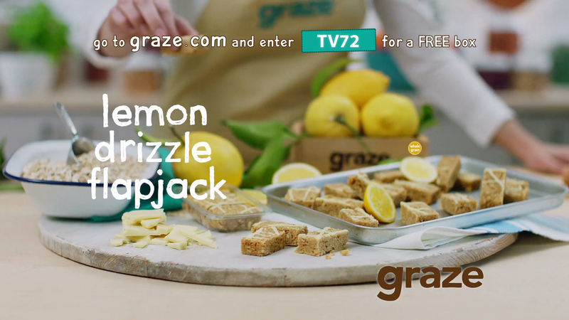 Graze 60 second TV commercial