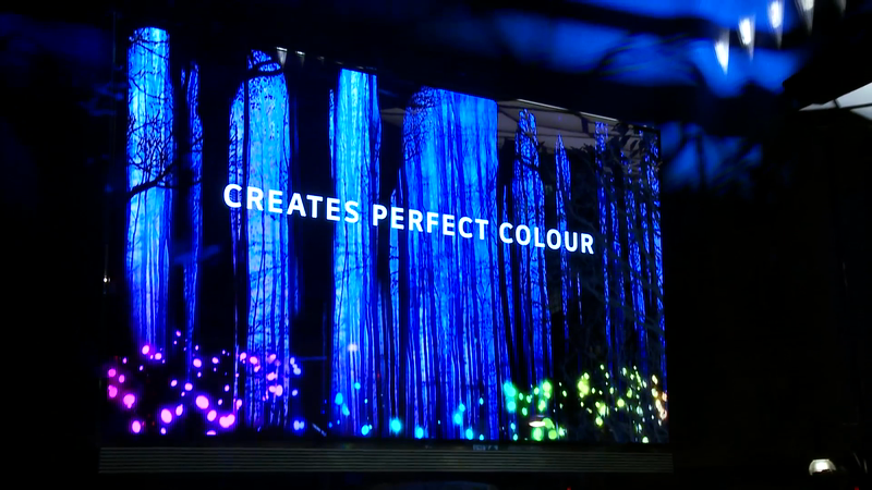 B&D creates dramatic Selfridges window installation for LG