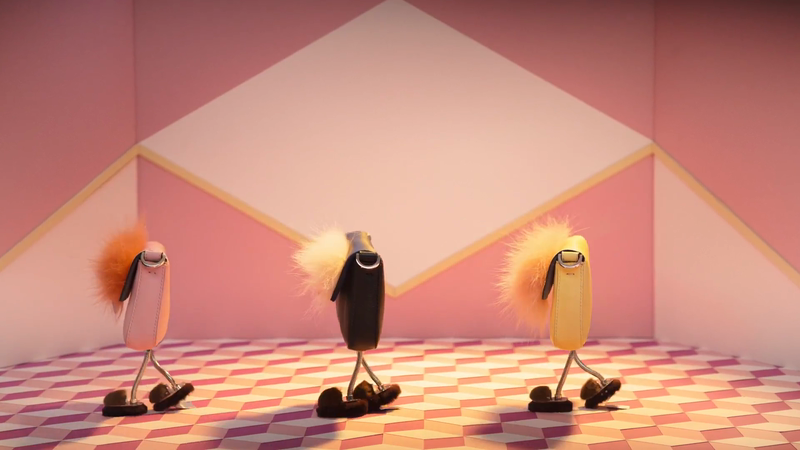 Dario Directs Stop Motion 'Hypnoteyes' Film for Fendi