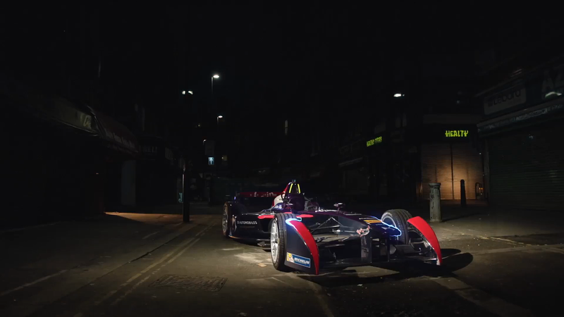 DHP helps DS Virgin Racing light up Electric Avenue