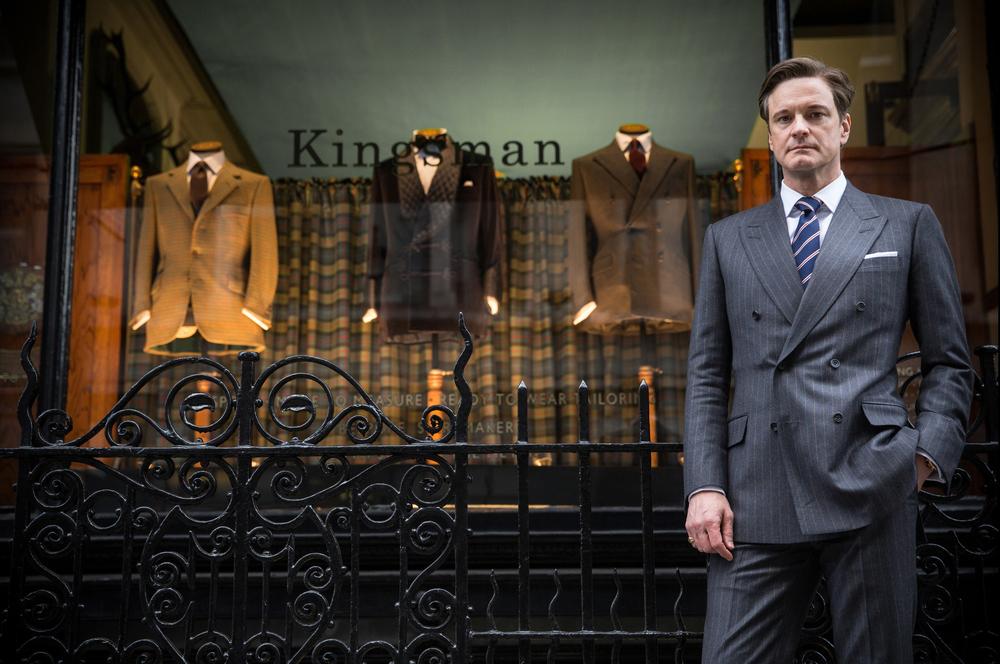 Huntsman x Kingsman x Mr Porter
