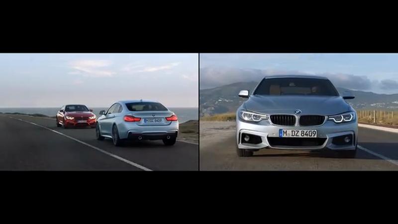 """Headline: Director Henrik Hansen """"Co-Directs"""" with the BMW M4"""