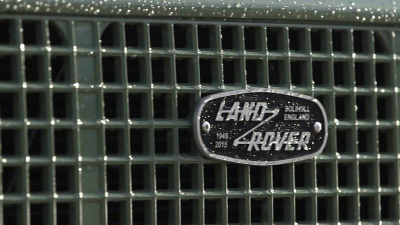 Land Rover – Defender Heritage