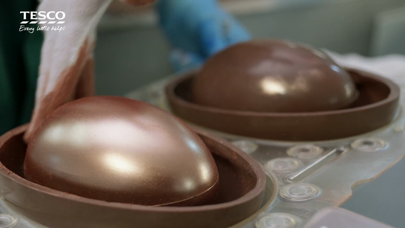Tesco / Food Love Stories - Chocolate Eggs