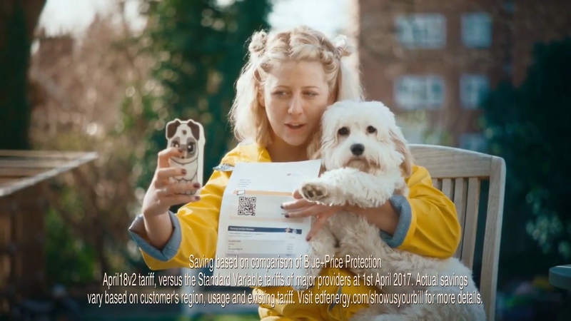EDF Energy | Show Us Your Bill Selfie | Dog Selfie