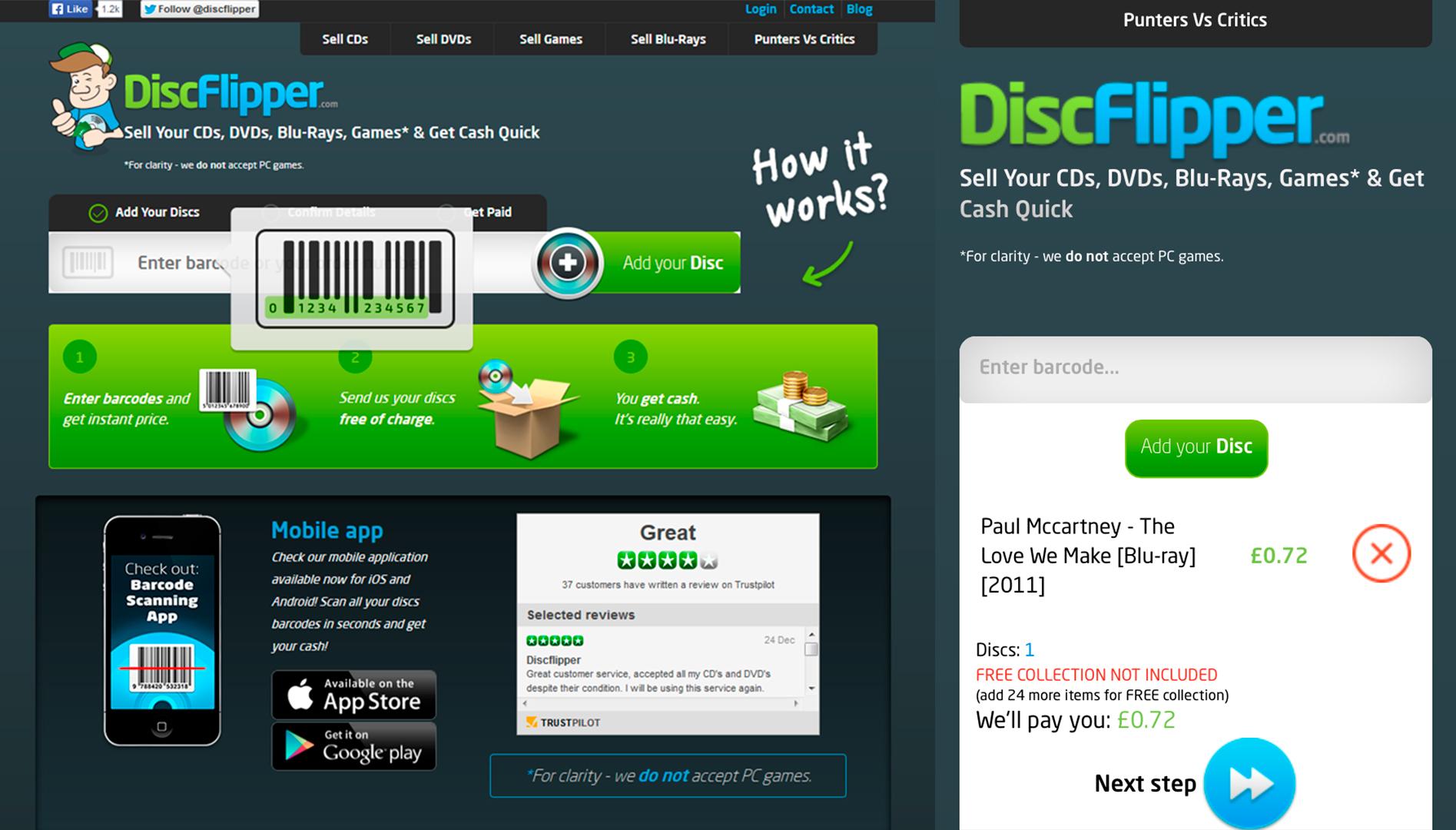Disc Flipper