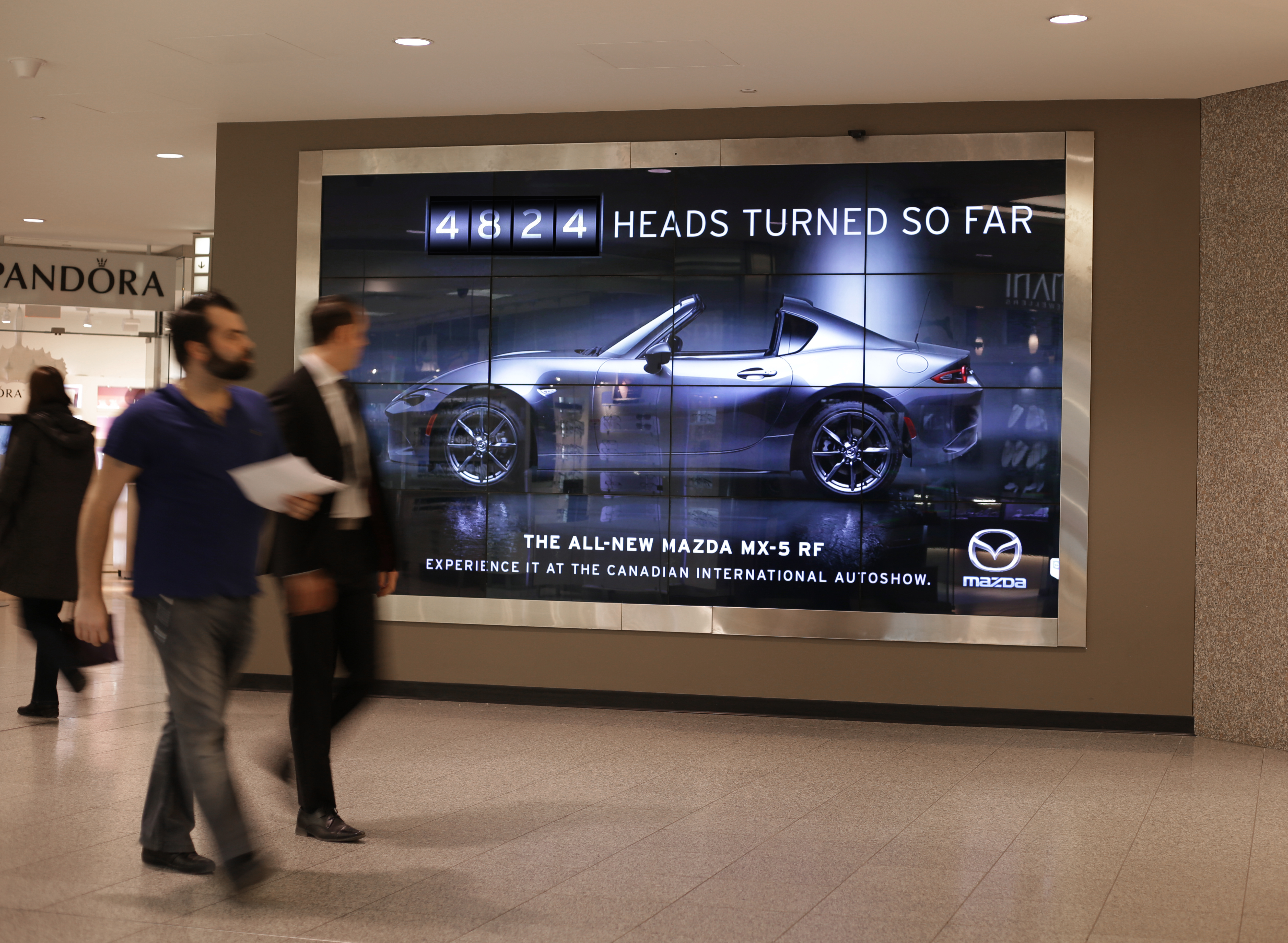 Mazda Canada: The Head Turning Billboard