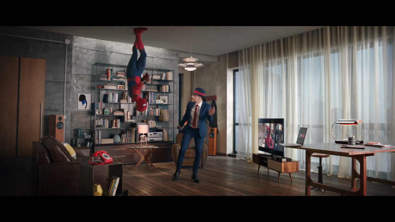 Spider-Man Busts a Move for TIM