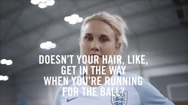 Glamour UK - 9 Questions Every Female Footballer Gets Asked