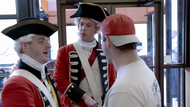 "New England Revolution - ""Tea Act"""