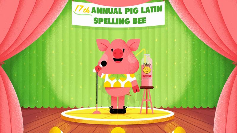"Hubert's ""Pig Latin"""