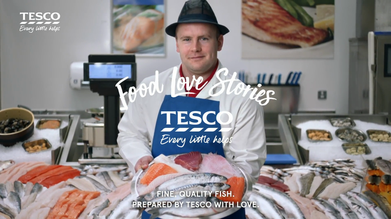 Tesco / Food Love Stories - Fish