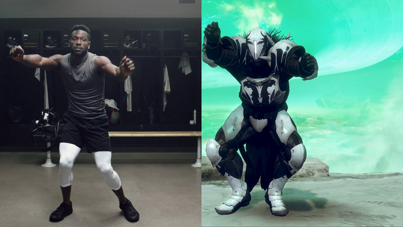 Activision: Destiny 2 + Antonio Brown = Dance Party by AKQA