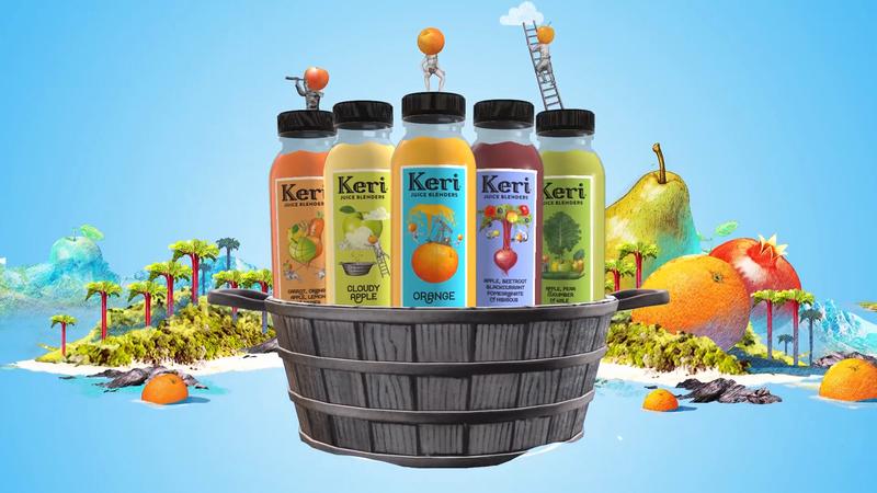 Keri Juice's Curious World Of Fruit And Veg