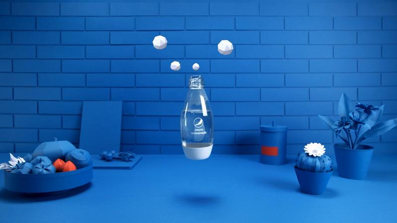 Pepsi Homemade - 'Soda Stream Caps'