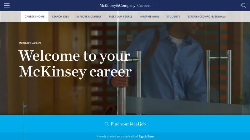 McKinsey & Company Careers