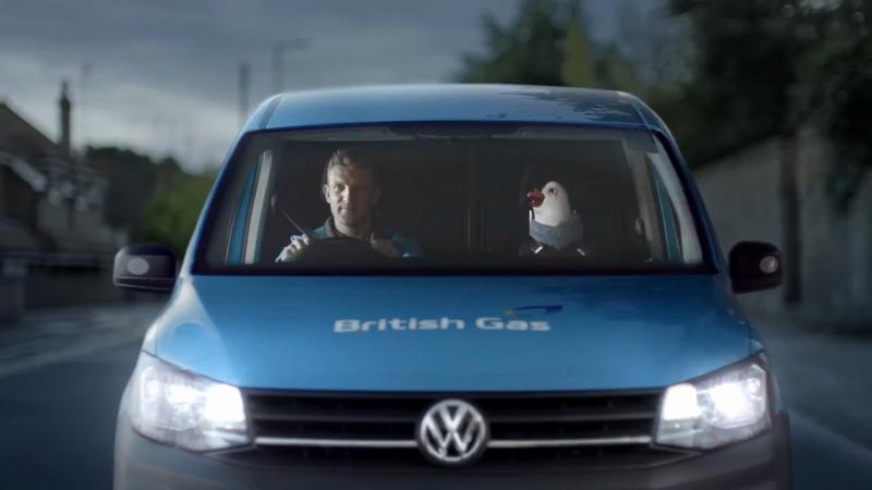 British Gas 'Travelling Wilbur'