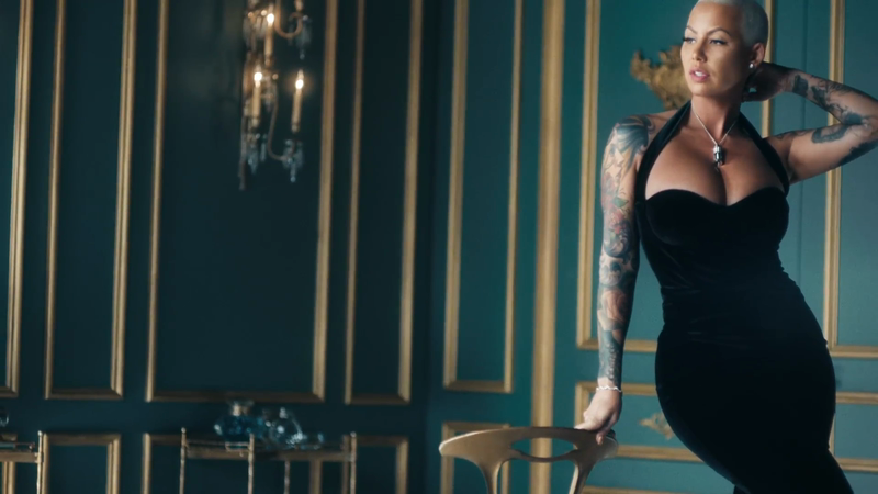 Amber Rose and JWT Spoof Luxury Ads for a Very Worthy Reason