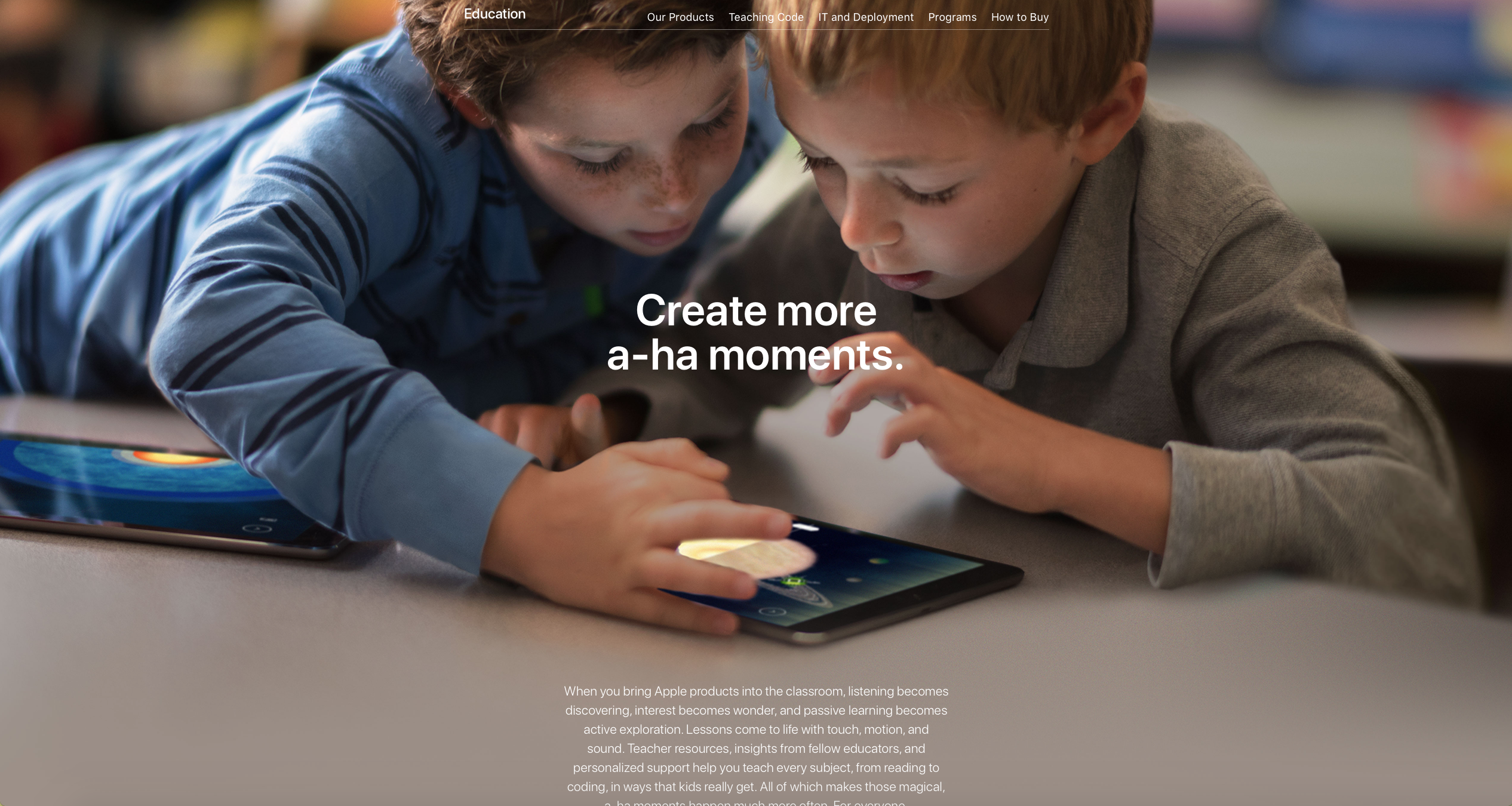 Apple | Education