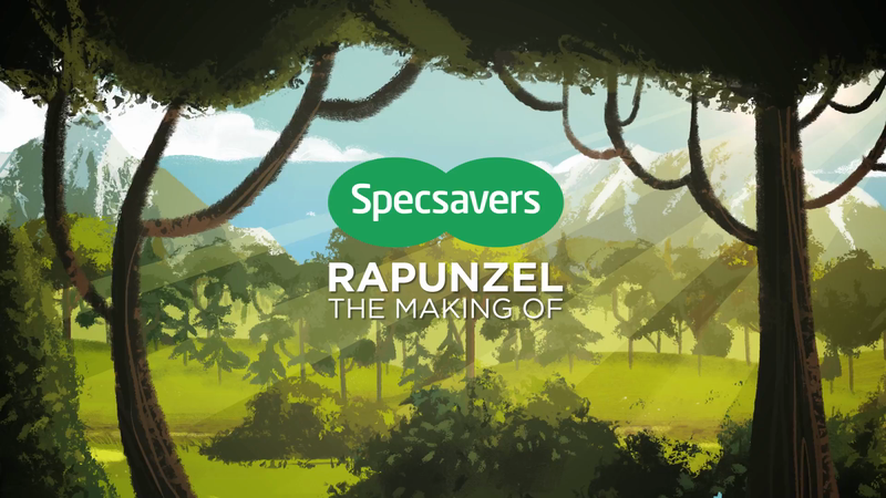 Specsavers' Rapunzel: The Making Of
