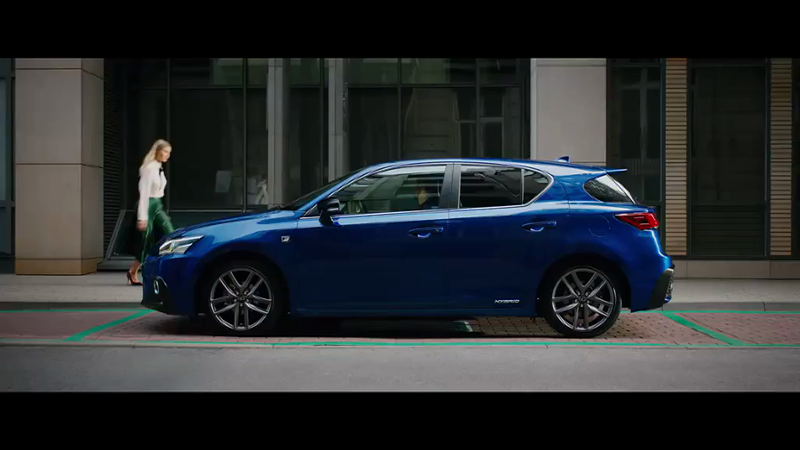 Lexus CT 'Say Yes to the City'