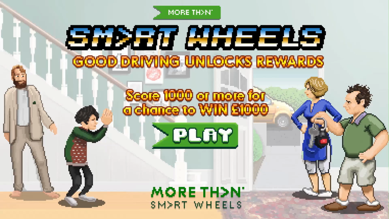 MORE THAN SMART WHEELS Driving Game