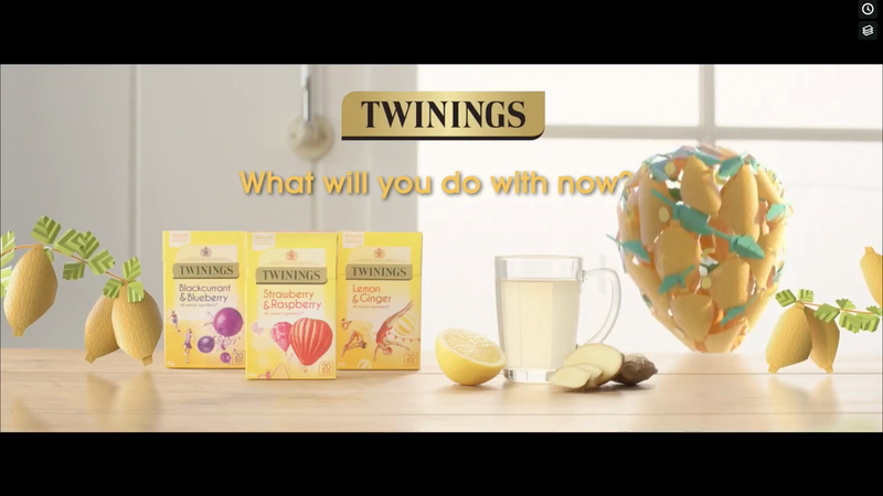 Twinings Online Advert