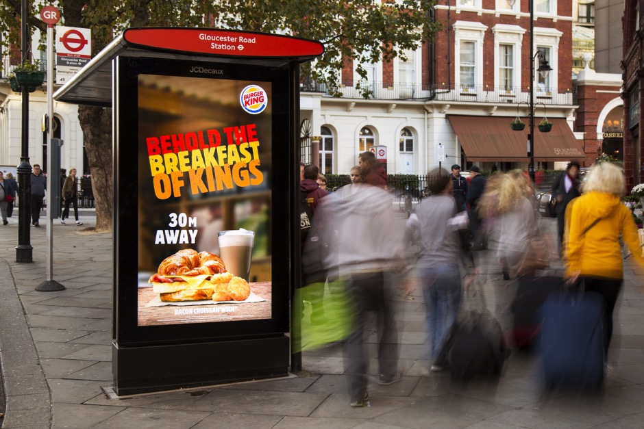 Burger King taps into real-time needs