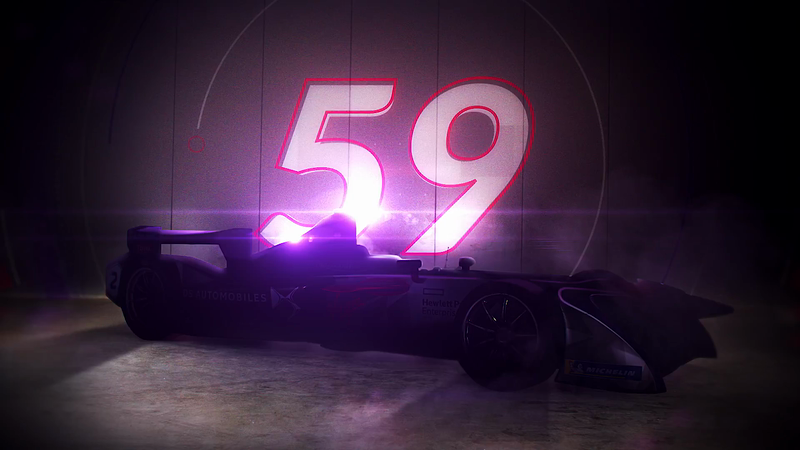 DS Virgin Racing launch latest electric Formula E Car with Rabble Post and The Mob Films.