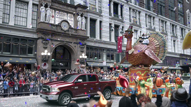 Gerard de Thame Recreates Macy's Thanksgiving Day Parade for Ram