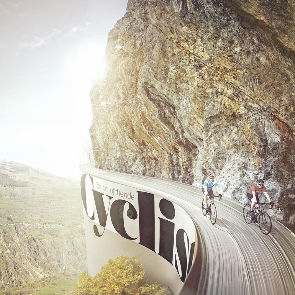 Cyclist Retouching