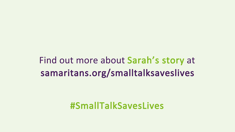 Handle With Care: Capturing Samaritans' 'Small Talk Saves Lives' Campaign