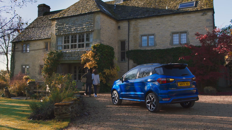 Ford EcoSport 'For Big Moves'