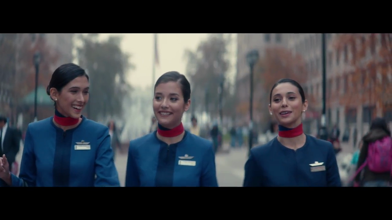 Latam - Camila's flight