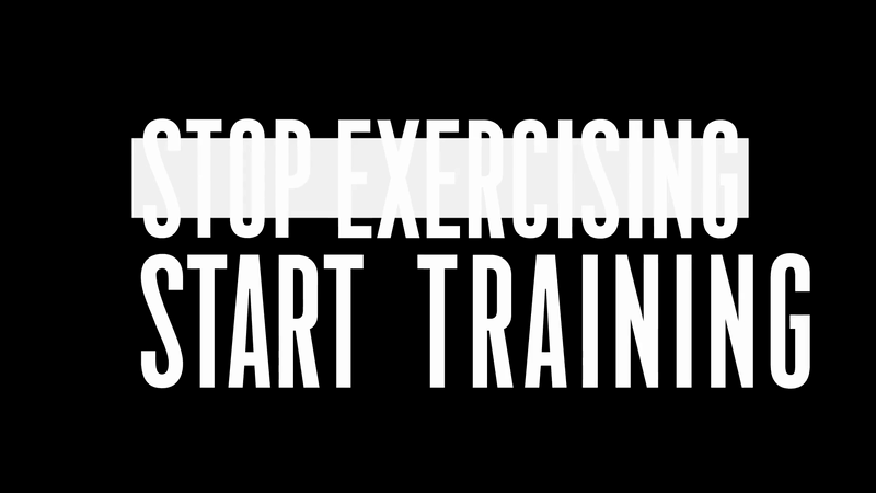 Nike: Stop Exercising. Start Training.