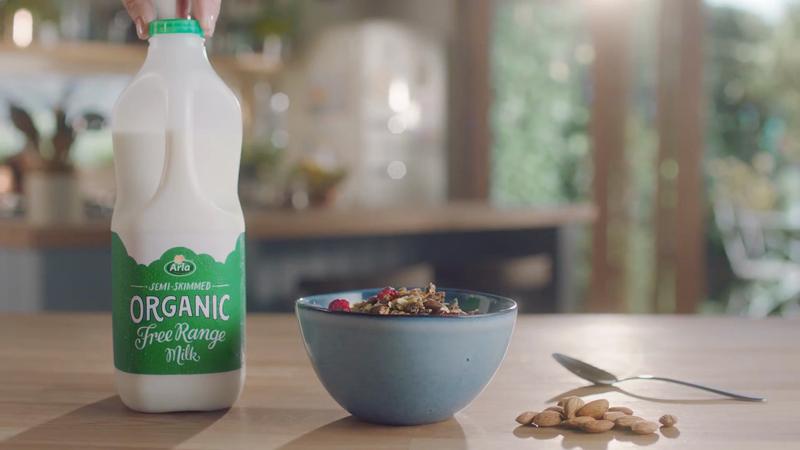Arla Organic Milk - Now It's Brunch