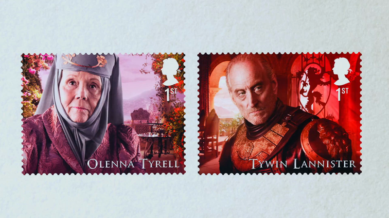 ROYAL MAIL – 'GAME OF THRONES STAMPS'