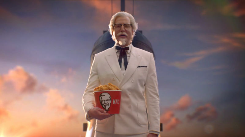 "KFC ""Colonel Sanders"" directed by Jeff Low"