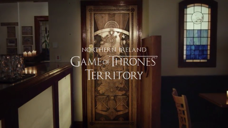 Tourism Ireland - Doors of Thrones
