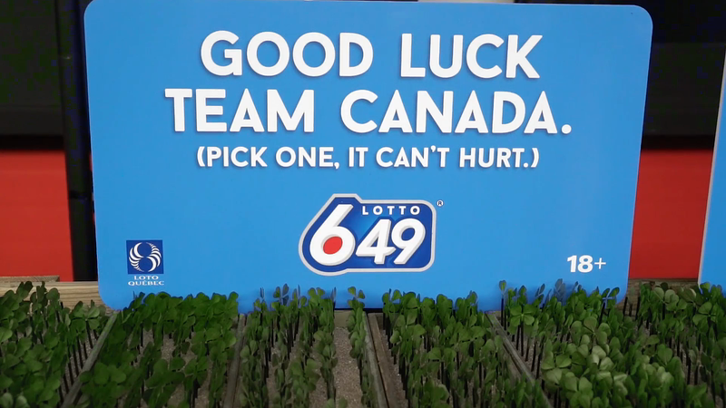 Lotto 649- Olympic Four-Leaf Clover