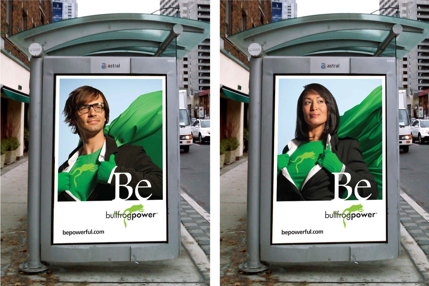 Be Powerful campaign