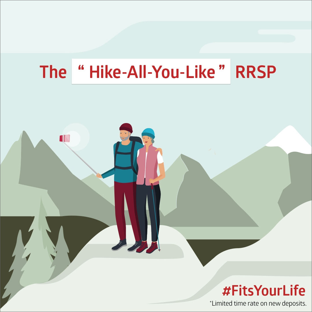 "The ""Hike-All-You-Like"" RRSP"