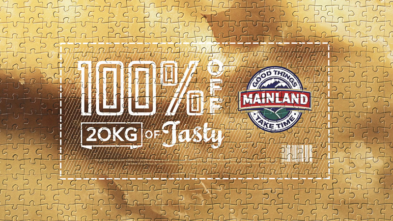 The Mainland 2000-piece voucher