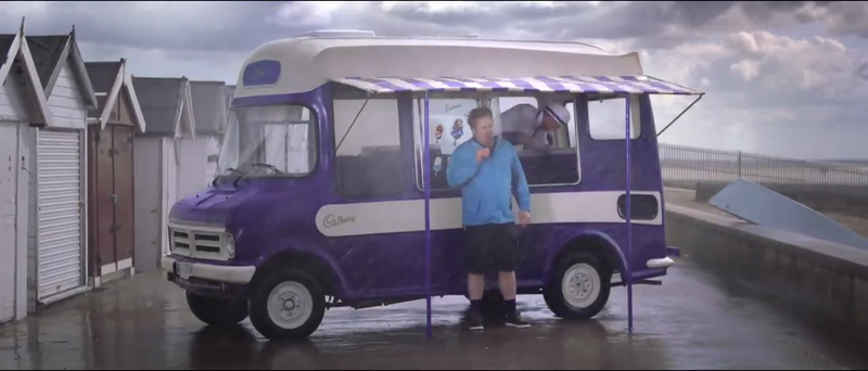 Cadbury Dairy Milk Ice Cream Television Advert - Freeze The Joy