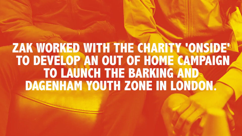 Barking and Dagenham Youth Zone OOH Campaign