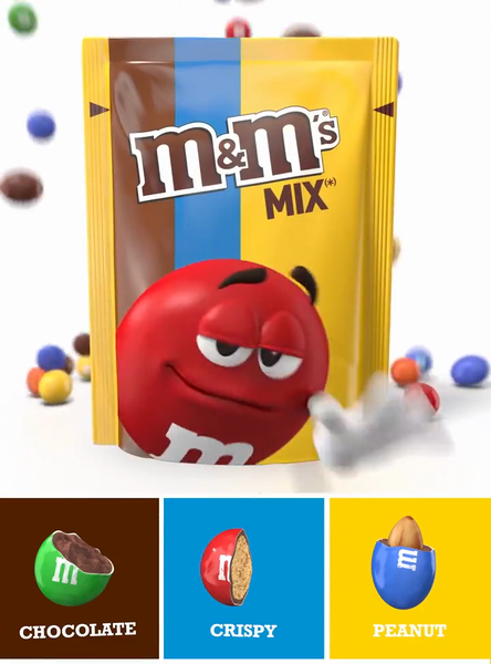 AMV - Chocolate, Peanut and Crispy M&M's