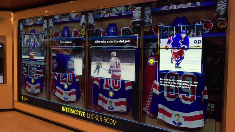 SAP - NHL Touchwall